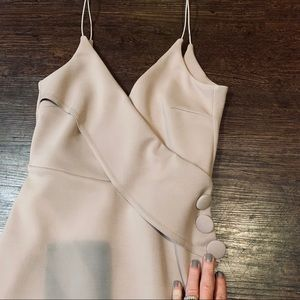 ASOS Mauve Side-Button dress